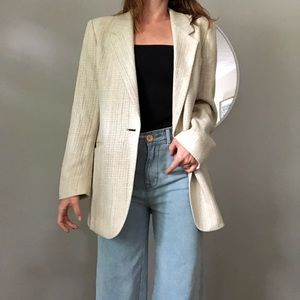 Vintage longline blazer